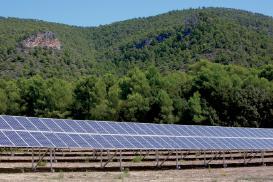 Photovoltaic park Son Jordi Mallorca